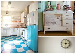 Retro Kitchen Floor Retro Kitchen Flooring All About Flooring Designs