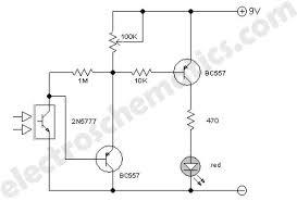 improved infrared detector circuit infrared detector circuit diagram