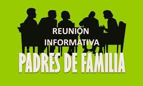 Resultado de imagen de REUNION FAMILIAS PRIMERO PRIMARIA