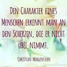 Den Charakter Eines Menschen Christian Morgenstern Charakter