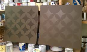 contemporary wall stencils for painting wall stencil samples