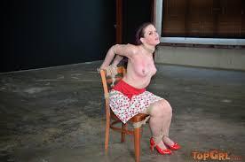 Caroline naked bondage story