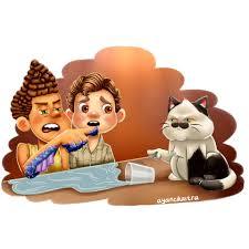 ArtStation - Luca - Disney Pixar Movie - Fanart and Meme, Ayane Ilustra