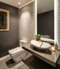 Powder Room Ceiling Light Powder Room Ideas Contemporary With Lighting Ceramic Vessel