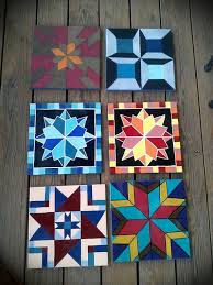 Best 25+ Painted barn quilts ideas on Pinterest | Barn quilt ... & Mini Barn Quilts by RagansOriginals on Etsy Adamdwight.com