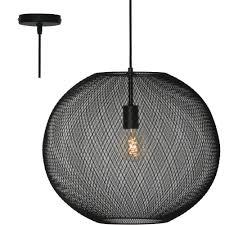 Hanglamp Freelight Noa H3210z Zwart 35cm