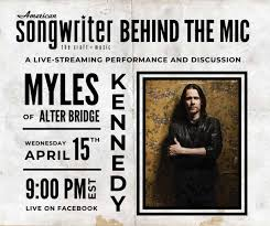 The ides of march is the 74th day in the roman calendar, corresponding to 15 march. Today Myles Kennedy Alter Bridge Livestreams A Performance And Discussion Metalsucks