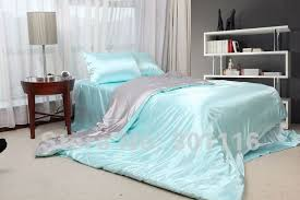 Cool bed sheets for summer Sheet Set Fashion Summer Bedding 100 Cool Blue Imitated Silk Bed Sheet Set duvet Cover bedding Set comforter Setbedspread Aliexpress Fashion Summer Bedding 100 Cool Blue Imitated Silk Bed Sheet Set