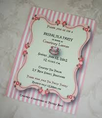 Kitchen Tea Party Invitation Bridal Shower Tea Party Invitations Cloveranddotcom