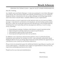 Best Salon Manager Cover Letter Examples Livecareer