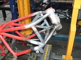 ducati f1750 frame repair during