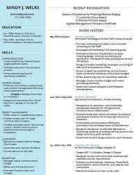 Awards Resume Resume Awards Mindy Jasmund