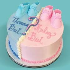 15 Kg 1 Kg Baby Shower Cakeits A Boy Or A Girlkeep Guessing
