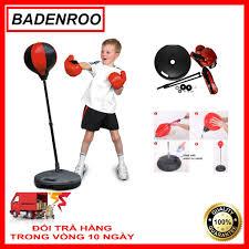Bán Bộ Đồ Chơi Đấm Bốc Cho Bé, Bóng tập phản xạ, tập cơ tay tại nhà, dụng  cụ tập đấm bốc, bộ đồ chơi tập boxing cho bé/đồ chơi thể thao