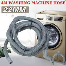 4 M Yıkama Makinesi Bulaşık Makinesi Tahliye Hortumu çıkış Su Boru Esnek  Uzatma 22mm Ile Braketi Kategori çamaşır Makinesi Parçaları -  L.interesbest.news