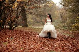 1 Autumn Inspired Wedding Shoot Wellies Trash Dress Thaoski S