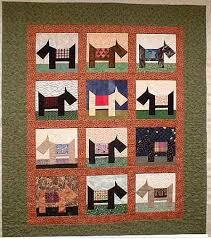 Dog Quilt Patterns Amazing Free Scottie Dog Quilt Block Pattern