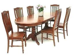 oval dining table set oval dining table set for 6 patio table and chairs seats 6