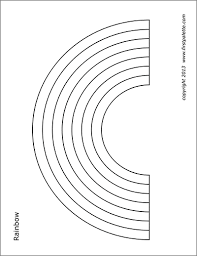 Draw or paint the colors of the rainbow with our free rainbow coloring page below. Rainbow Free Printable Templates Coloring Pages Firstpalette Com