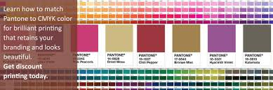 Pantone Coated Color Chart Pdf Matching Pantone To Cmyk Color