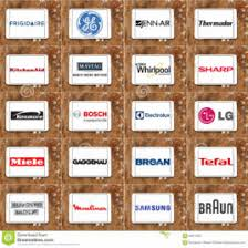 top appliance brands. Top Famous Kitchen Appliance Brands And Logos Editorial Image