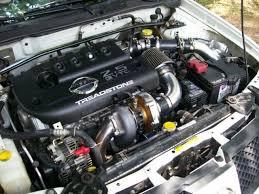 nissan sentra ser spec v turbo kit 02 06 treadstone performance