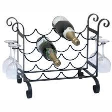 wire wine rack. Furniture: Wire Wine Racks Elegant Organizer Wall Mount Rack Wrought Iron