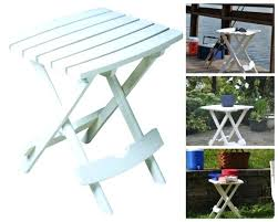 small folding side table outdoor small folding side table tray portable camping patio garden quick fold small foldable side table