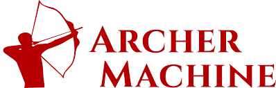 machine shop logo. archer machine logo shop