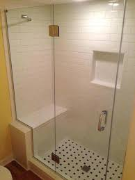 walkin shower pan shower pan custom tiled walk in shower converted from regular x tub x walkin shower pan