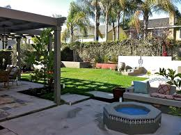 backyard landscaping designs. Exellent Backyard Backyard Patio Cover Fire Pit Lawn Landscaping  Terry Design Inc Fullerton On Designs I