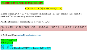 Types Of Probability Types Of Events Probability Theory Engineers Tutor
