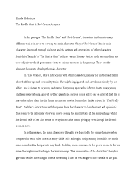 writing a character analysis essay character analysis essay cover  paragraph characterization essay