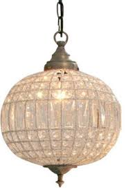 crystal ball chandelier silver glass large