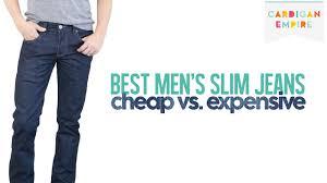 Expensive Mens Designer Jeans The Best Four Slim Cut Jeans For Men Cheap Vs Expensive