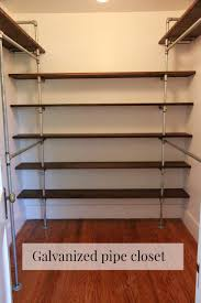 the space was there already and had been my youngest child s nursery previously i saw a few of these pipe closets