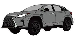 大型セダングレーのフリーイラスト素材商用利用可 Car Value