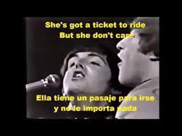 best ticket to ride beatles ideas ticket to  ticket to ride subtitulada en espanol e ingles
