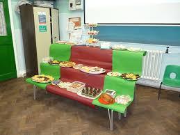Harvest Tearfund Bake Sale Display Wicklewood Primary School And