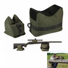 FS <b>Sniper Shooting Bag Gun</b> Front Rear <b>Bag Rest</b> Target Stand ...