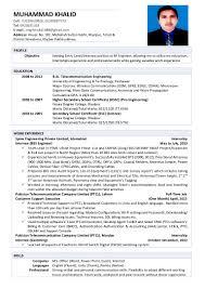 Resume Of A Electrical Engineer Electrical Engineer Resume