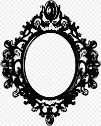 mirror frame drawing. Picture Frames Black And White Drawing Clip Art - Mirror Frame Drawing