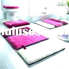 fabulous pink bath rugs gray bathroom rug sets bath rug sets pink bath rugs hot pink
