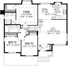plans with side entry garage tri level house post