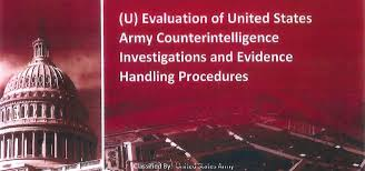 Evaluation Of United States Army Counterintelligence