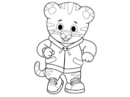 Small Picture daniel tiger neighborhood coloring pages coloring Pages