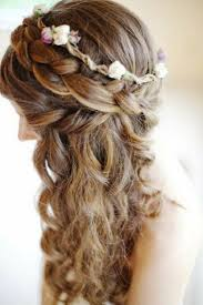 Nice Hairstyle For Curly Hair 39 half up half down hairstyles to make you look perfect 2887 by stevesalt.us