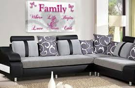 kunst family love quote wall art