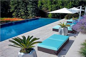 modern pool furniture ideas home deck orlando swimming alluring patio pool beds furniture resin