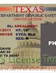 Fake Texas - Psd Drivers Tx License